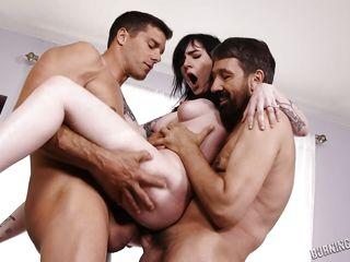 Жесткий секс групповуха